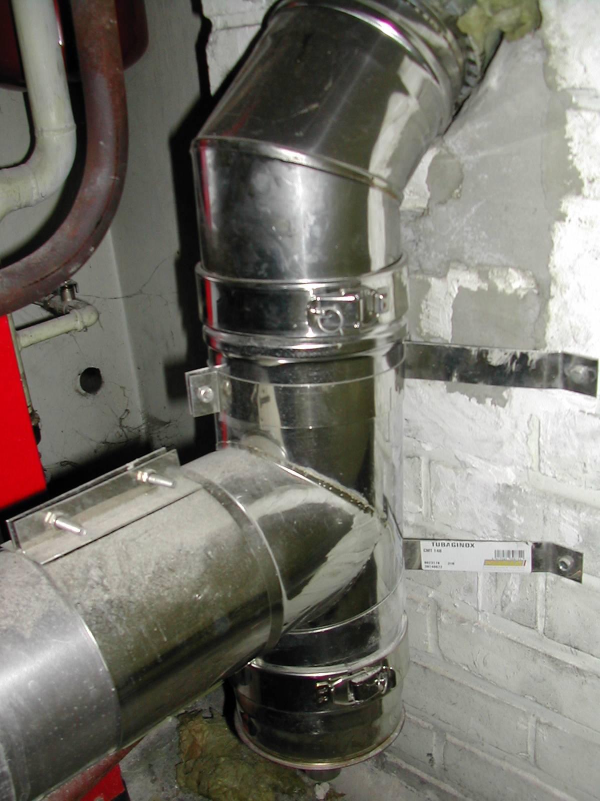 Tubage chemin e gaz fioul ou bois bolbec lillebonne port - Difference entre chaudiere ventouse et cheminee ...